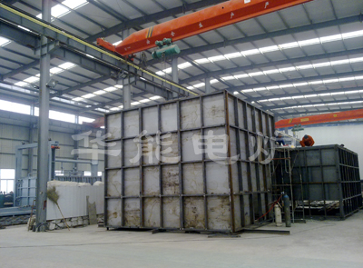 包頭鋼鐵方井式電阻爐