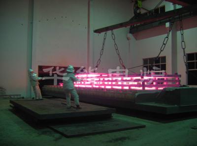 新惠鋼鐵100噸臺車式電阻爐